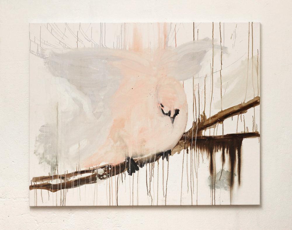Ersatz Primitive, oil on canvas, 150 x 140 cm