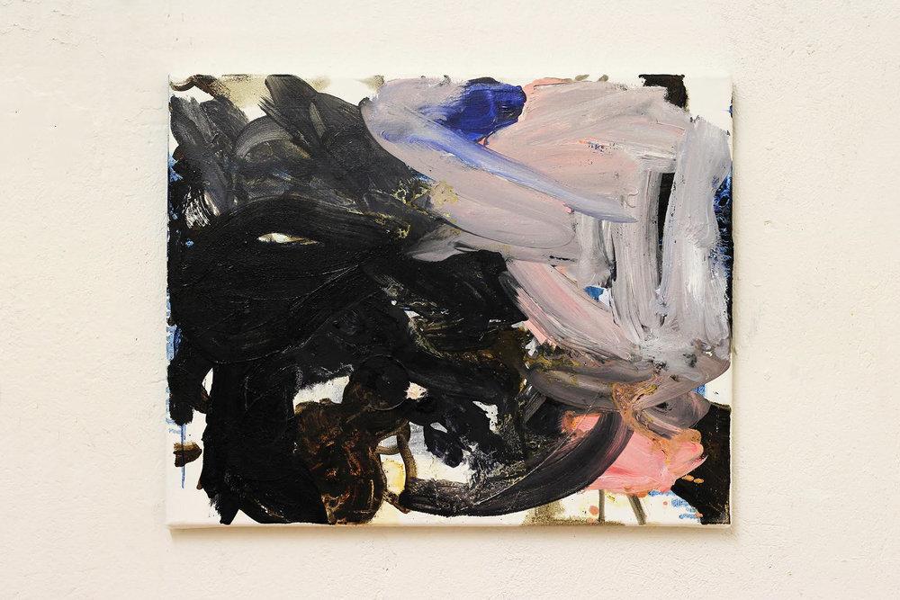 Chiara (rip), oil on canvas, 50 x 40 cm