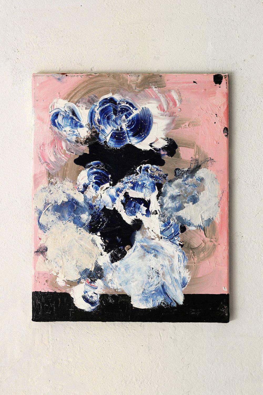 Gawkey,oil on canvas, 50 x 40 cm