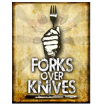 Forks Over Knives is a 2011 American advocacy film and documentary that advocates a low-fat, whole-food, plant-based diet as a way to avoid or reverse several chronic diseases. The film stresses that processed foods and all oils should be avoided.