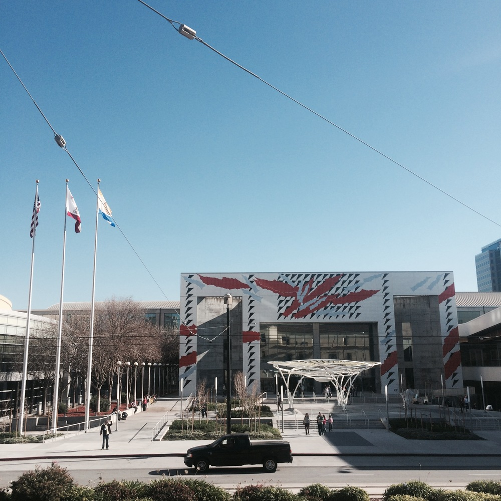 The San Jose Convention Center, 2015.