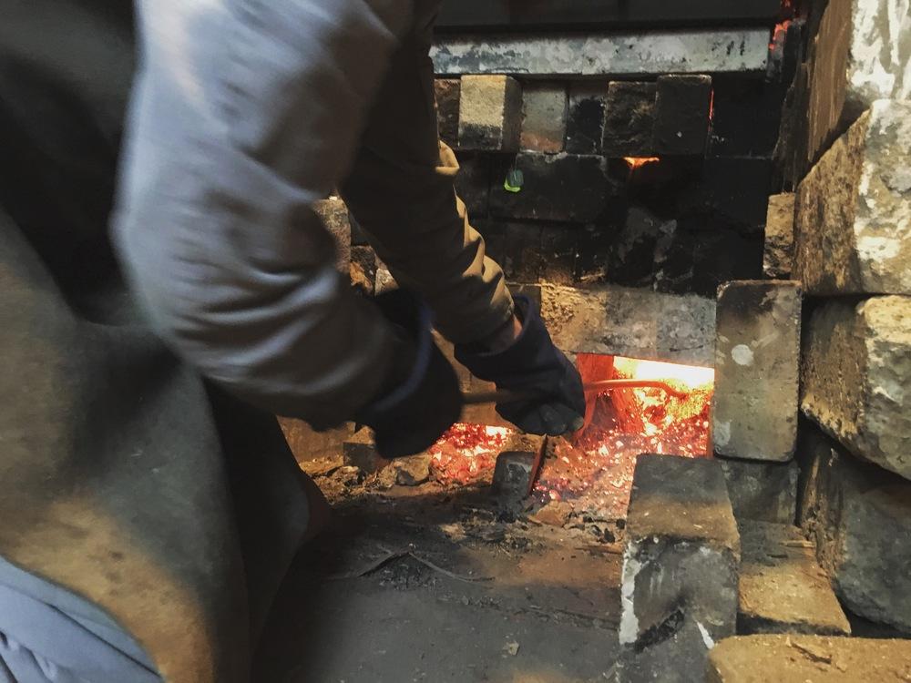 Raking the Coals