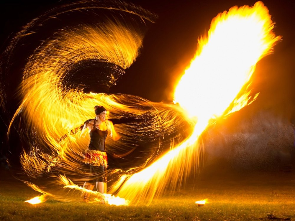 fire performer UK Circus Entertainment