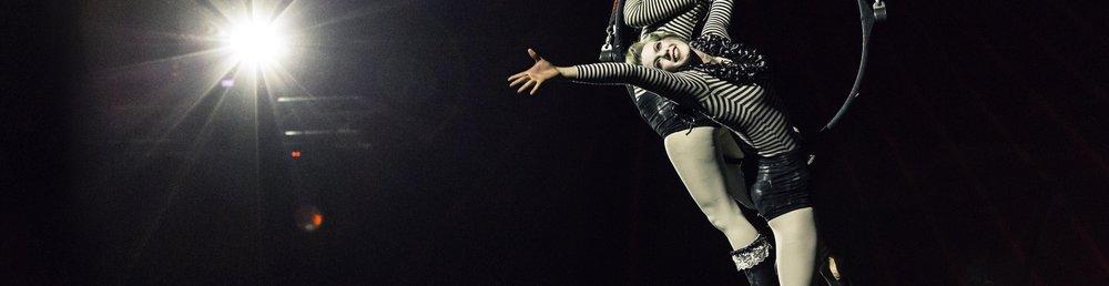 Aerial Hoop performers