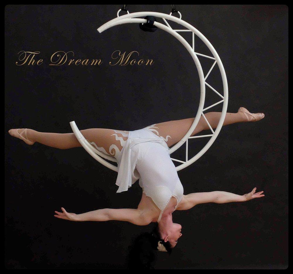 Aerial Moon Circus Act