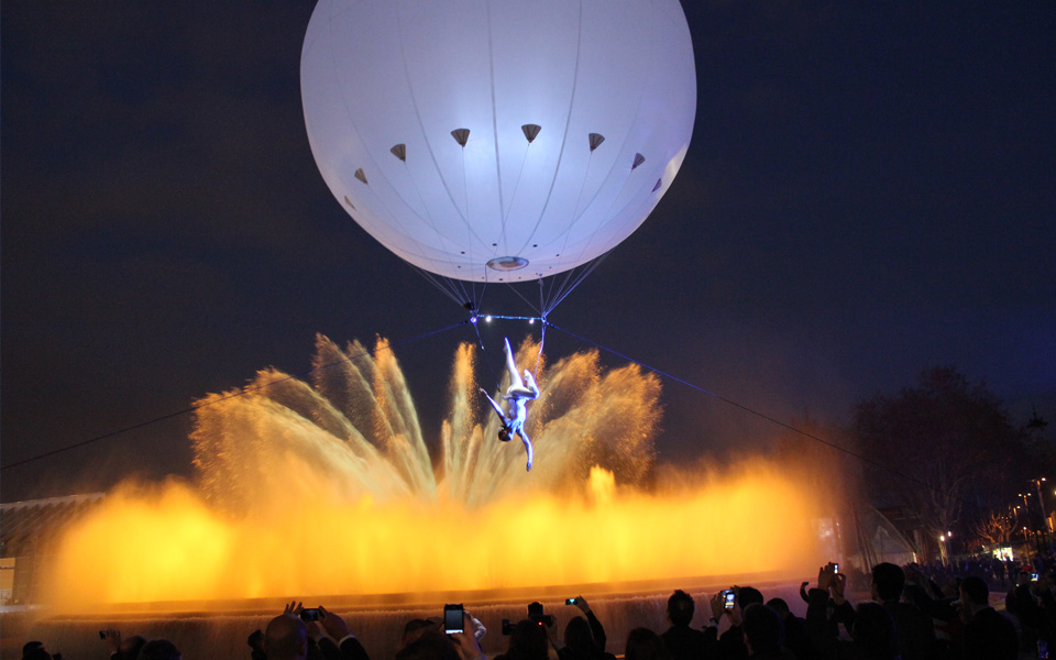 heliosphere Aerial dance act