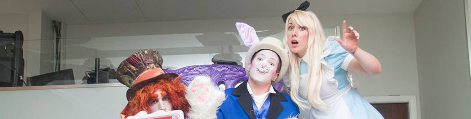 Alice in wonderland entertainment