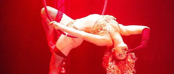 aerial burlesque