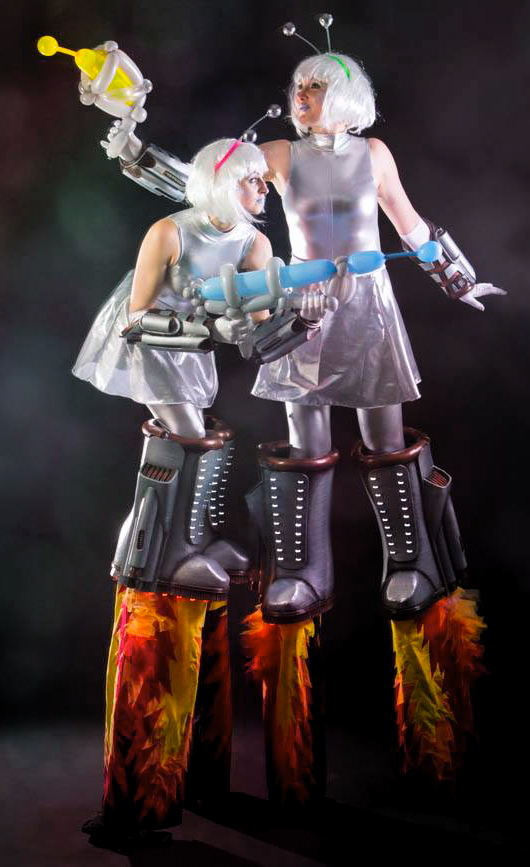 Space girl stilt walkers.jpg
