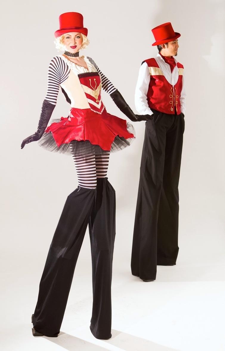 Vaudeville circus stilt duo.jpg