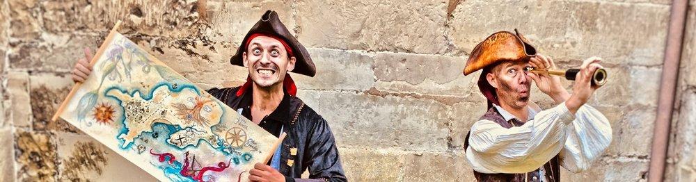 pirate mix and mingle act