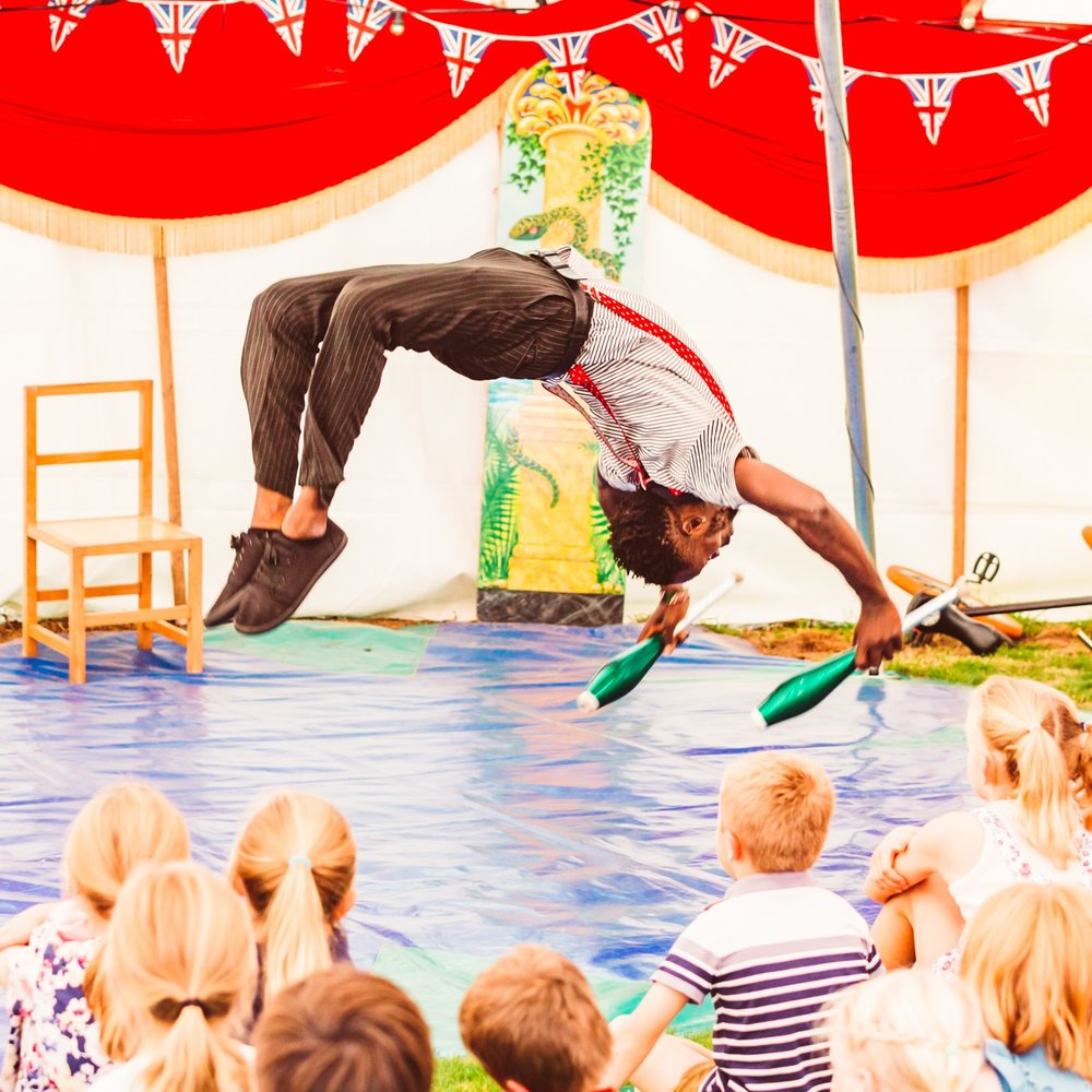 Big top kids show