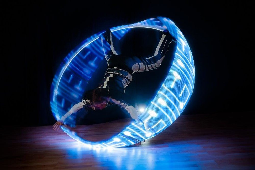 LED Glow circus shows