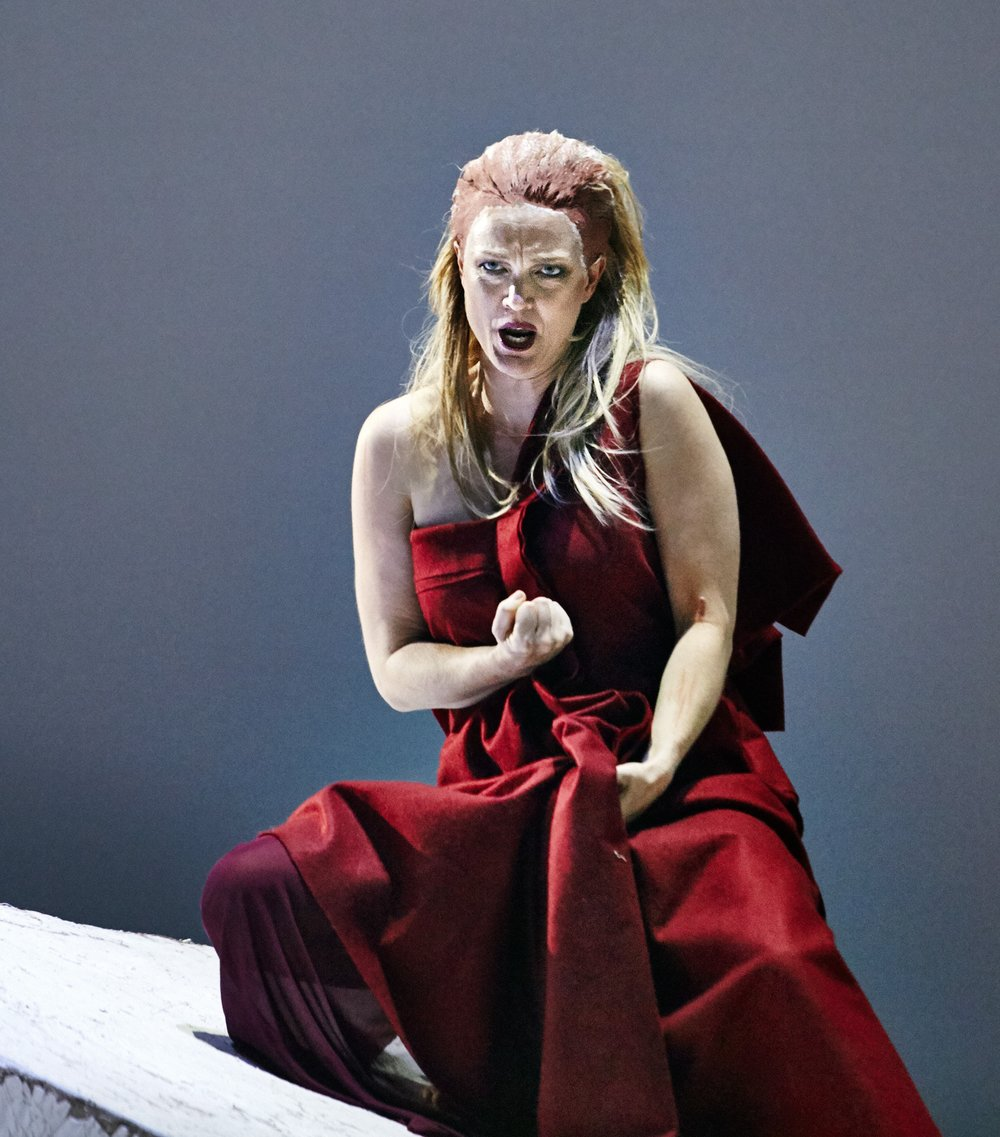 CAITLIN AS IPHIGÉNIE IN  IPHIGÉNIE EN TAURIDE  FOR PINCHGUT OPERA 2014