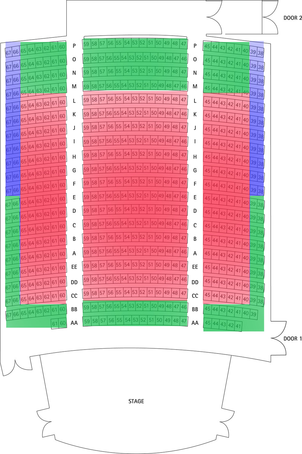 Level 1 City Recital Hall