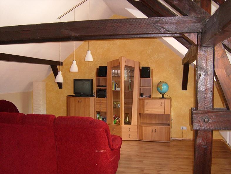 Bootshaus Kaupen Spreeloft Wohnzimmer