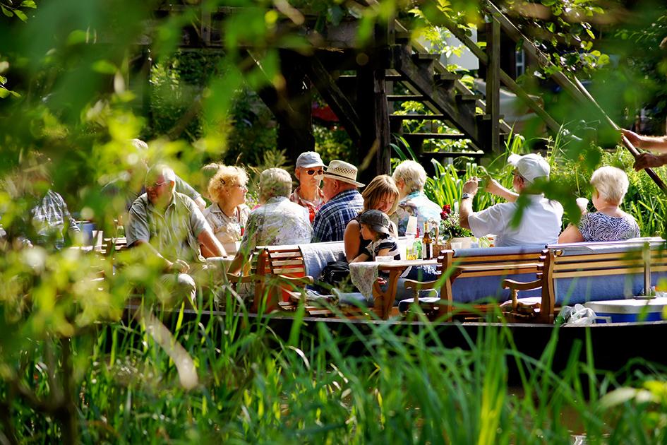 Kahnfahrt im Spreewald Bootshaus-Kaupen