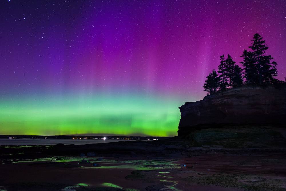 Northern Lights at Burntcoat Head
