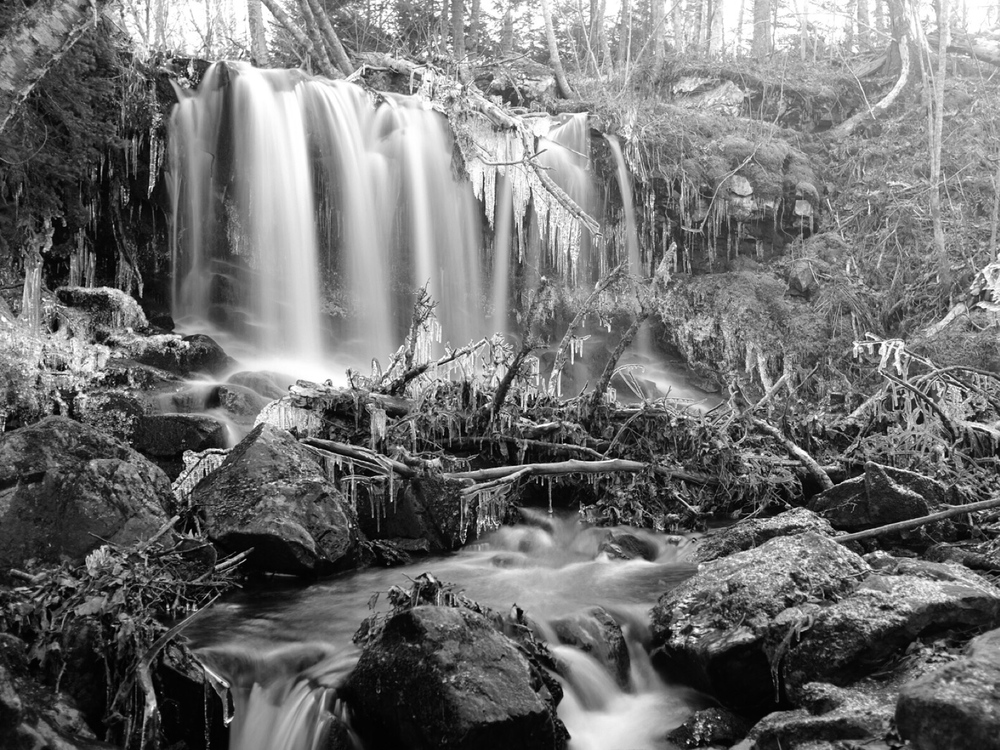 Another waterfall shot, this time from the X100T.