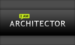 "I AM ARCHITECTOR    ""She has created inspired and exclusive decorative elements that symbolize the emergence and evolution of fashion brands."""