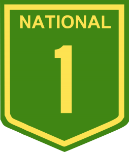 A National Highway Shield