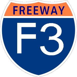 A Freeway Shield