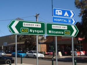 New Alpha-Numeric Signs, Already In Cobar!