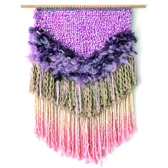 Hanwoven weaving wallhanging