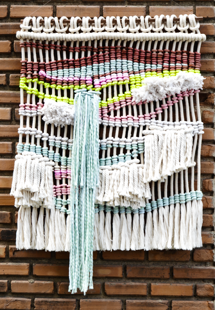 Contemporany Macrame wall hanging