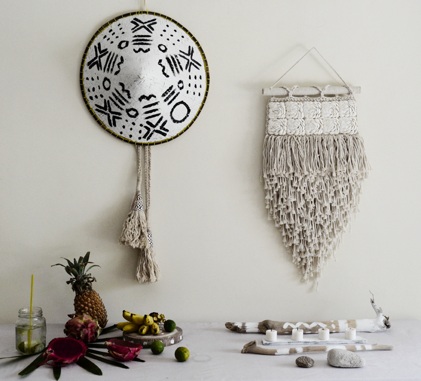 TRIBAL MACRAME WALLART