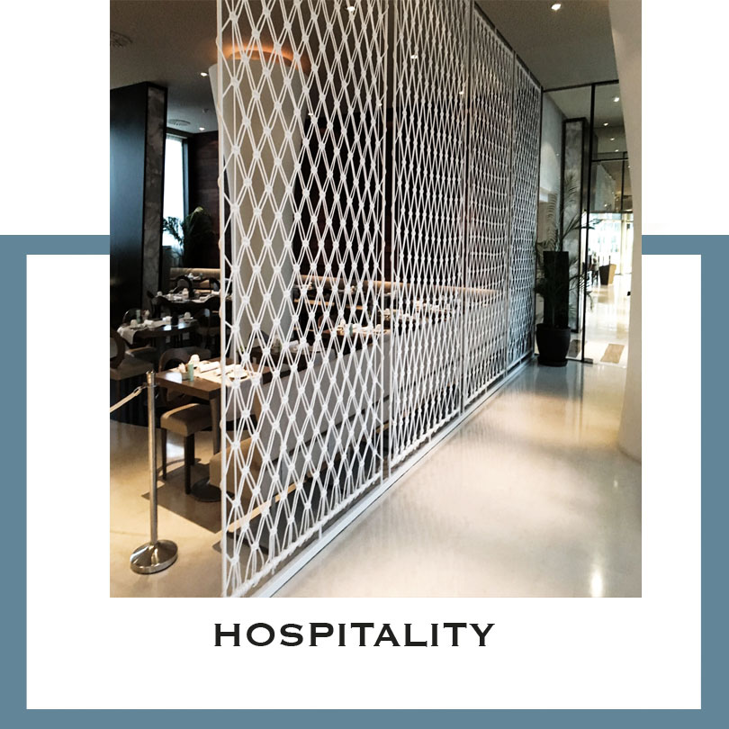 Hospitality Macrame Installations