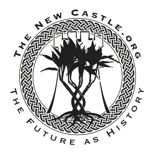 The Tree of Knowledge logo for The New Castle Society is represented by a bamboo plant. Its roots are interwoven to the outer circle's braids to symbolize that as our collective knowledge grows, the stronger our Society becomes and continues to cycle infinitely.