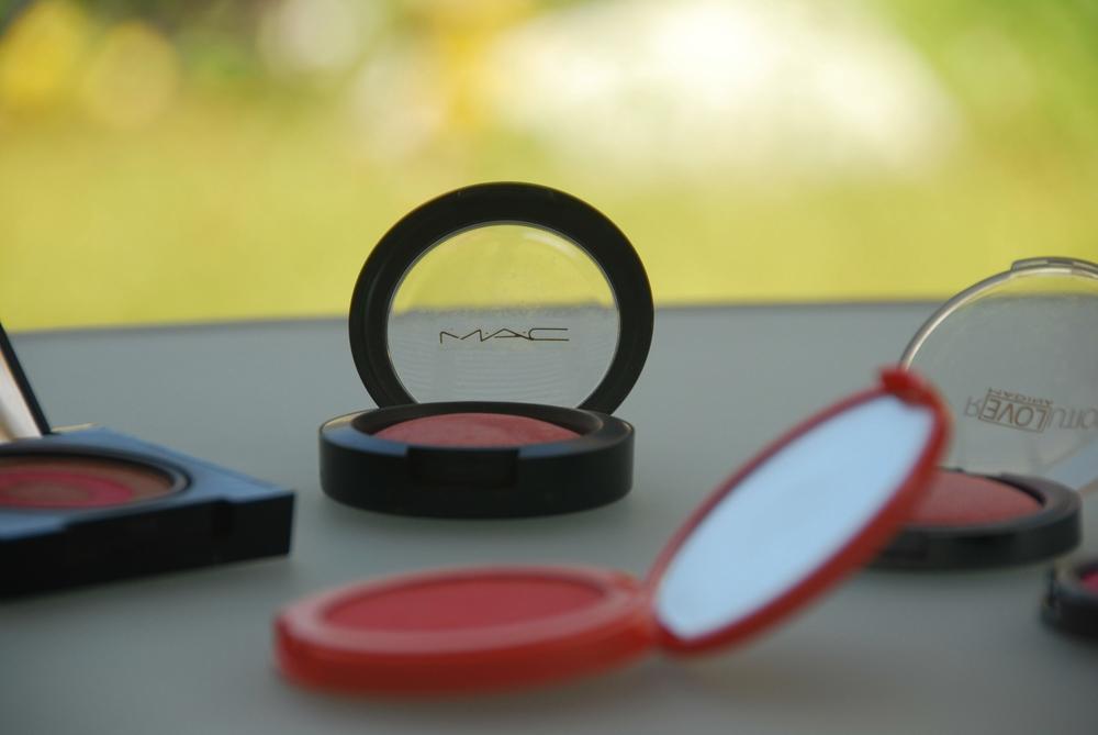 peach eyeshados