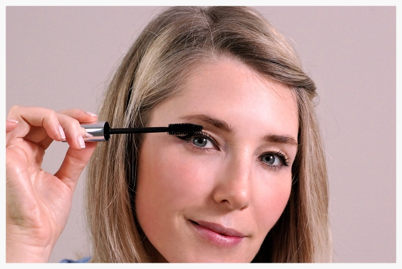 complete the look with mascara