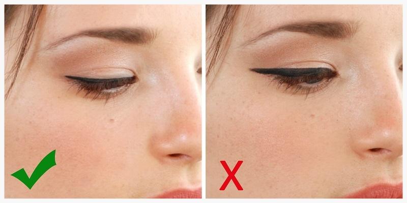 Natural eye liner