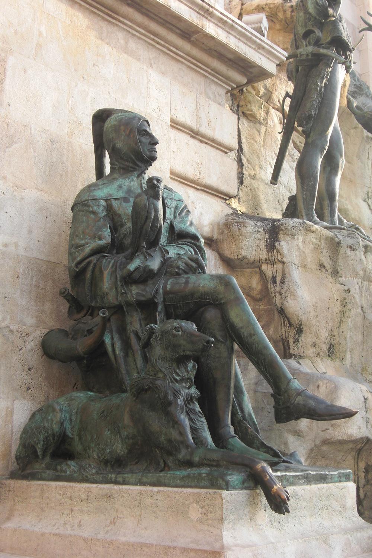 The Matthias fountain, Budapest. Photo: Ariana Carlén.