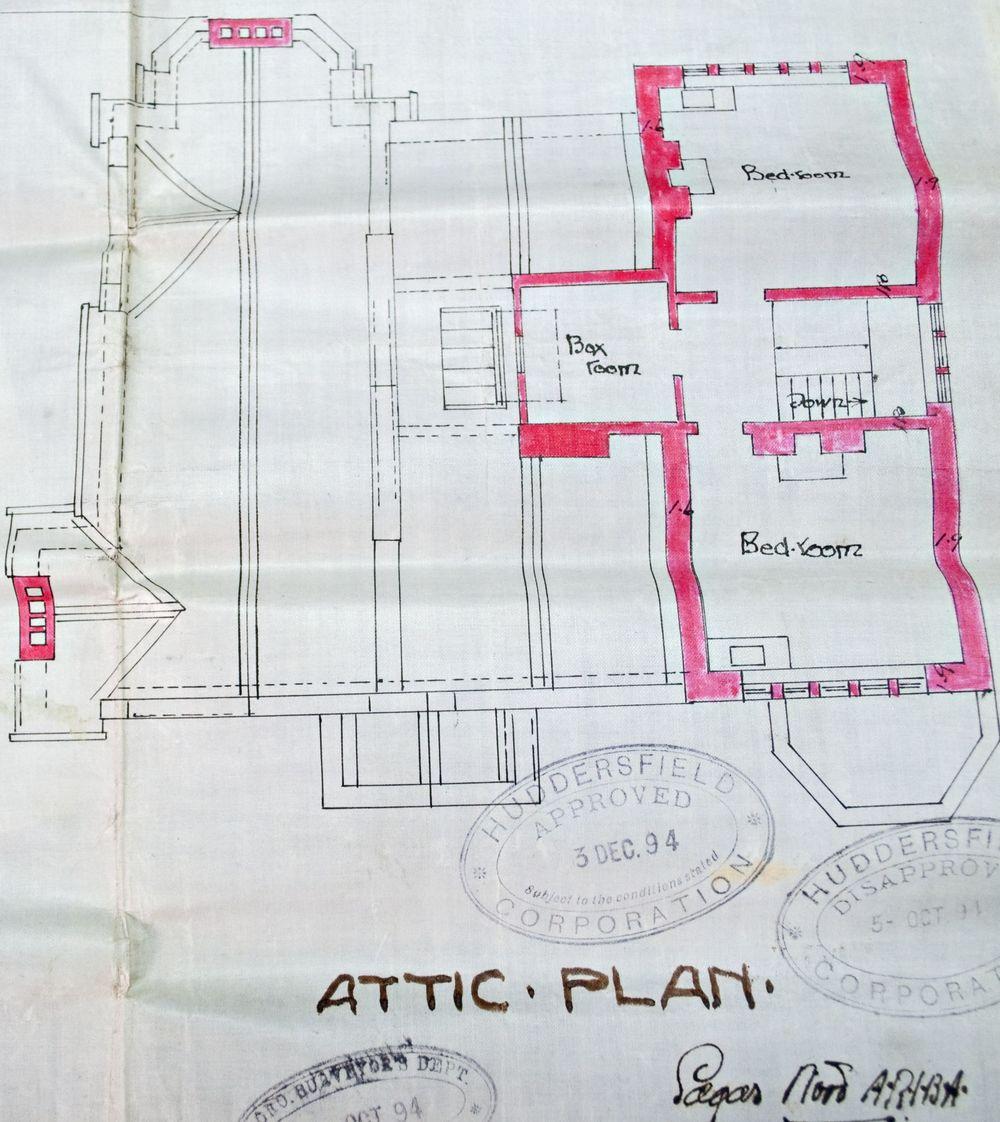 Original Attic Layout