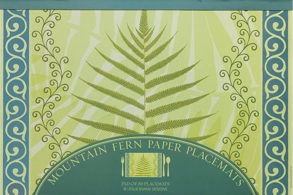 Fern Paper Placemats (50 Sheets) & Fern Paper Placemats (50 Sheets) u2014 Leslie Evans Designs