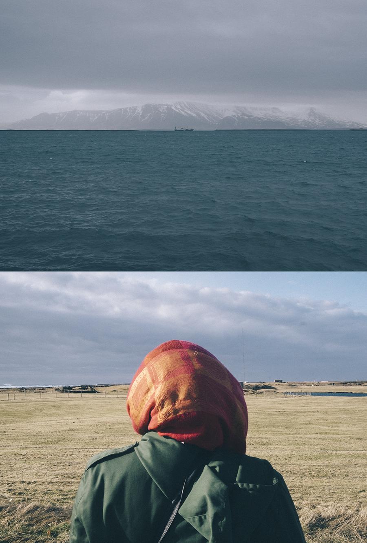 «Islandia»,retrata desde lo más profundo de nuestra psique la aventura de un momento extremo en un lugar extremo entre dos personas que están avocadas al fracaso; marida al espectador con una mirada azul y melancólica –como la mirada hacia dentro en los rostros de los cuadros de Modiglian-; y llega a hipnotiza al espectador con una repetición, a veces inconexa, de imágenes que hablan de pérdida y extravío. Un recuerdo que evoca otro algo, un yo que mira al horizonte, un juego de máscaras, de imposturas, un regreso, unas palabras que ya no dicen y que cobran un nuevo significado, al fin, una relativa reconstrucción simbólica de una amor que ya no existe.