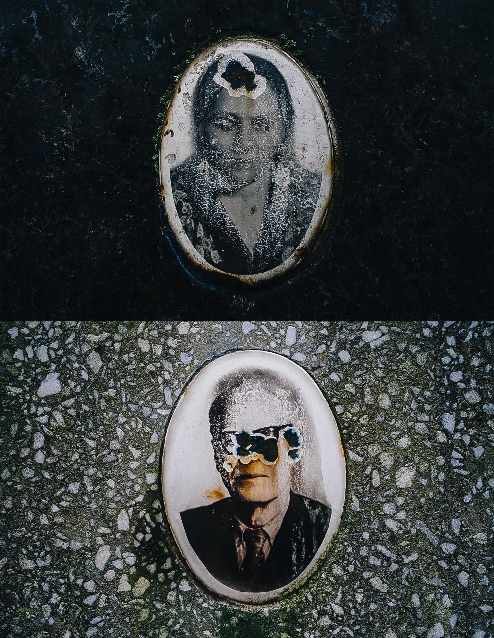 Retratos del cementerio de Baikove en Kiev, Ucania. ©Pedro J. Saavedra