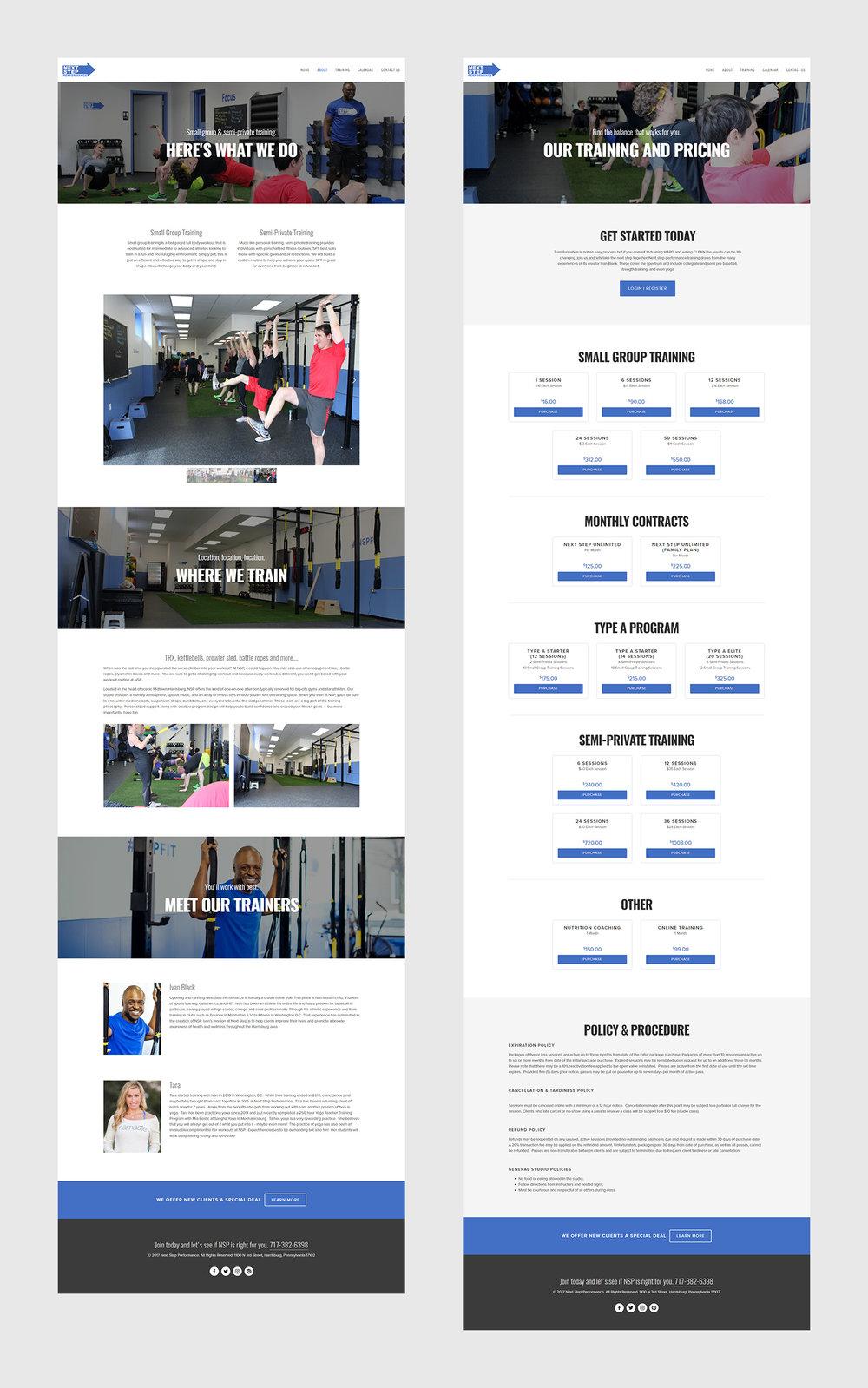 Squarespace Crossfit Studio Website