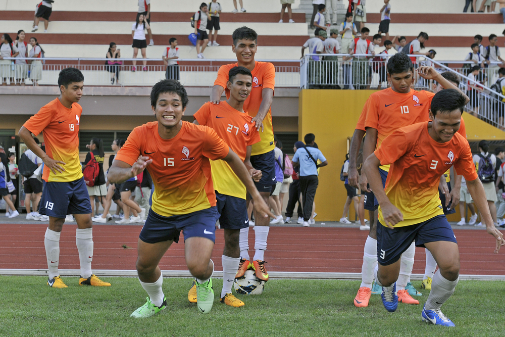 LionsXII in training