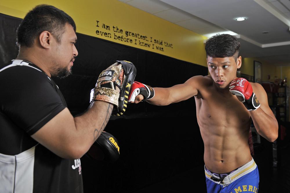 MMA fighter Syafiq Abdul Samad