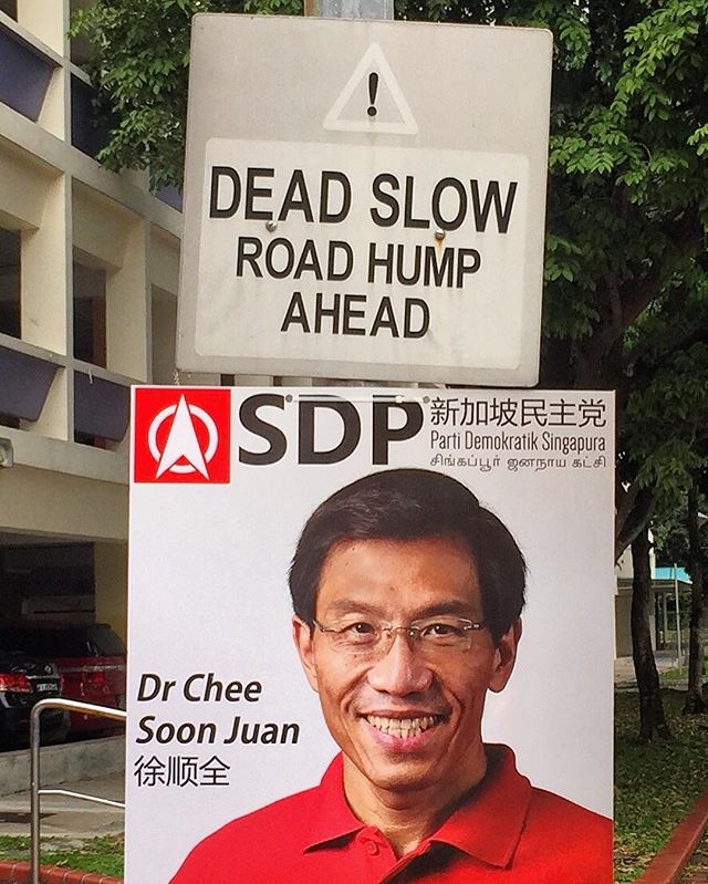 With the odds stacked against him for so long, he still braves the storm every single time. No road hump slows him down I guess.  #bukitbatokbyelection #cheesoonjuan #bukitbatok #igsg #sgiger #singapore #sgheartlands #yoursingapore