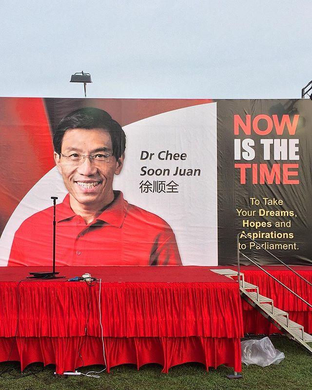 Here we go.  #bukitbatokbyelection #bukitbatok #cheesoonjuan #sdp #singaporedemocraticparty #igsg #sgig #onassignment