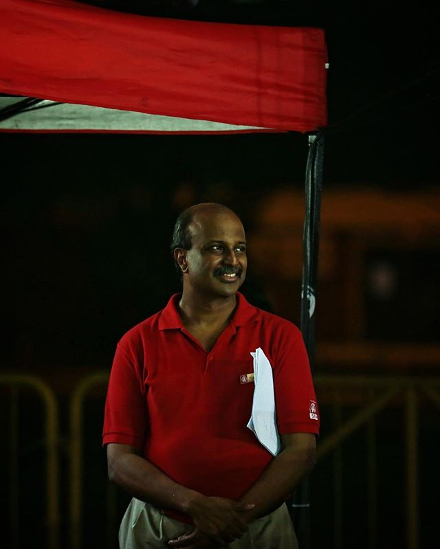 Moments before Dr Paul Tambyah took the stage during the #sdp rally for #bukitbatokbyelection this evening.  #singaporedemocraticparty #bukitbatok #sgelections #sgbyelection #onassignment #portrait #makeportrait #igsg #sgig #singapore #vsco #vscocam