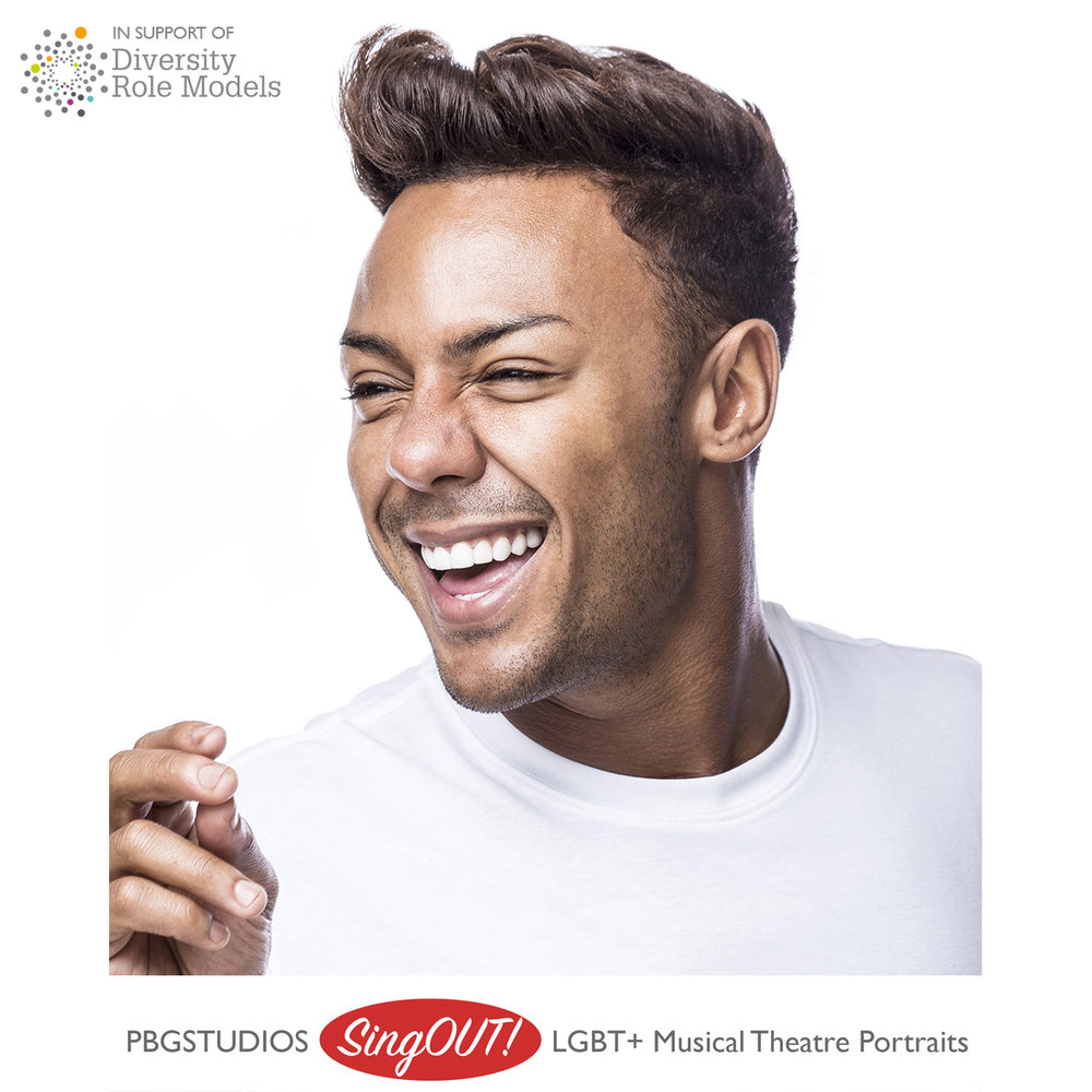 MARCUS COLLINS, recording artist, musicals include: Love Motown Tour, Kinky Boots (original cast), Hairspray (UK tour). Xfactor runner up 2011