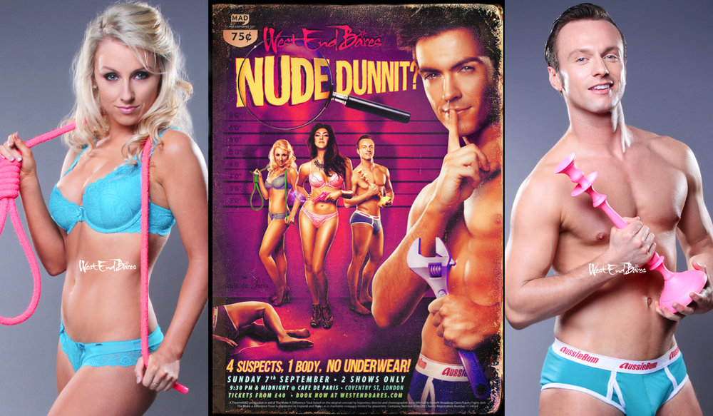 Nude Dunnit? WEB show promo images