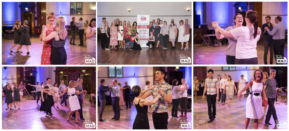 Robin Windsor's dance class (see Press and Events page for full gallery)