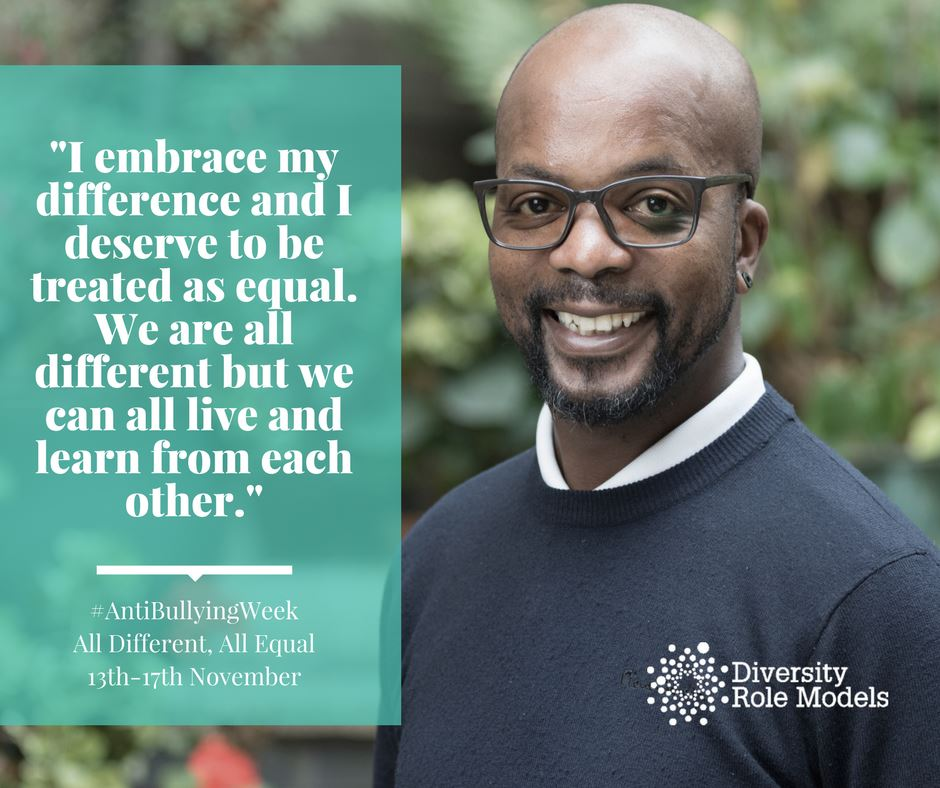 anti bullying week campaign for Diversity Role Models